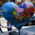 Heart. Union Sq. SF, CA